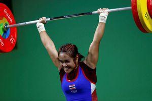 Thái Lan cấm cử tạ tham dự Olympic 2020 sau hàng loạt bê bối doping