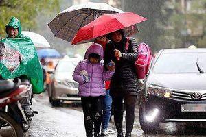 Không khí lạnh tăng cường, Hà Nội mưa rét