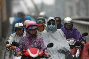 Không khí lạnh tăng cường, Bắc Bộ và Bắc Trung Bộ tiếp tục mưa rét