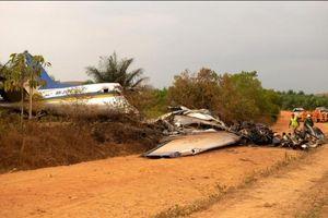Tai nạn thảm khốc 14 người chết trong tai nạn máy bay ở Colombia