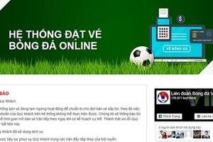 VFF mở bán online vé vòng loại U23 châu Á 2020