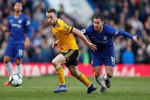 Hazard tỏa sáng, Chelsea hòa hú vía Wolves