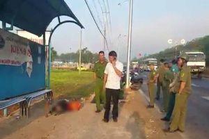Một người chết tại trạm xe buýt ở Đồng Nai