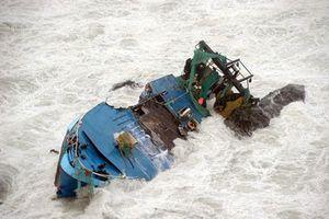 Lật ghe trên biển, hai vợ chồng bị sóng cuốn tử vong