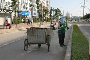 Vệ sinh môi trường của Hà Nội: Đối diện nhiều thách thức