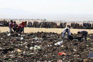 Vụ tai nạn máy bay Ethiopia: Đã xác định được danh tính các hành khách