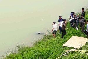 Phát hiện một thi thể trôi trên sông Chu
