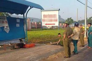Phát hiện thi thể người đàn ông tại trạm chờ xe buýt, dân hoảng hốt báo công an
