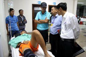 Đội trưởng U.19 SHB Đà Nẵng vẫn chưa thể phẫu thuật sau chấn thương kinh hoàng