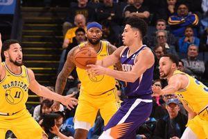Stephen Curry và Klay Thompson sa sút, Warriors bất ngờ thua Suns