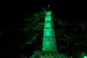 Hà Nội tham gia sáng kiến Nhuộm xanh toàn cầu mừng Quốc khánh Ireland