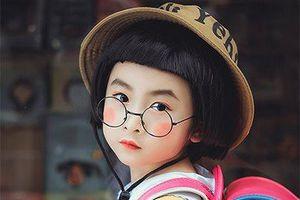 Nhóc tỳ Hà Thành đốn tim cư dân mạng bởi vẻ ngoài đáng yêu như nhóc Maruko