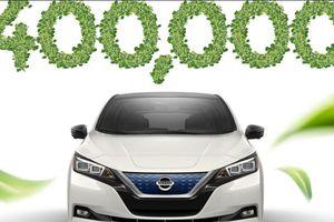 Nissan phá vỡ kỷ lục bán ra 400.000 chiếc xe điện