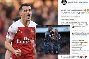 Dàn sao Arsenal thi nhau ăn mừng, Pogba trấn an tinh thần MU trên MXH