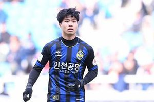 Công Phượng lập cú đúp trước Cyber Hankuk ở trận đấu tập của Incheon United