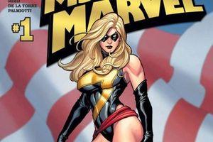 Captain Marvel - từ hở hang, khiêu khích đến mạnh mẽ, cá tính