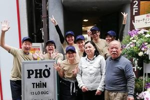 175.000 đồng/bát, quán phở Thìn ở Tokyo đón hàng trăm khách mỗi ngày