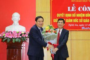 Nhân sự mới Nghệ An, Thừa Thiên Huế, Quảng Ngãi