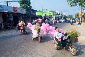 Lễ cưới trên xe lăn lay động hàng triệu trái tim