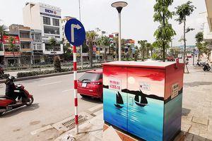 Hàng trăm tủ điện ở Hạ Long thành... tranh nghệ thuật