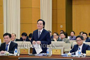 Bộ trưởng giáo dục Phùng Xuân Nhạ: SGK không phải viết xong là phát hành