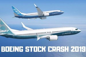 Cổ phiếu Boeing rớt thảm sau vụ rơi máy bay ở Ethiopia