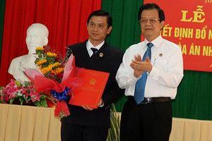 Trao quyết định bổ nhiệm Phó Chánh án TAND tỉnh An Giang