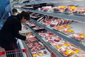 Thịt lợn sạch tại siêu thị vẫn giữ giá cao giữa cơn bùng phát dịch tả lợn châu Phi