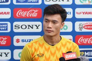 Thủ môn Bùi Tiến Dũng đánh giá về những đối thủ ở vòng bảng U.23 Châu Á