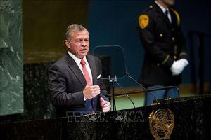 Quốc vương Jordan thảo luận với Phó Tổng thống Mỹ nhiều vấn đề 'nóng'