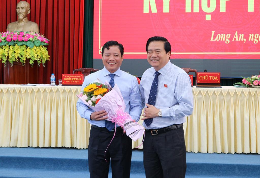 Ông Phạm Tấn Hòa được bầu giữ chức Phó Chủ tịch UBND tỉnh Long An