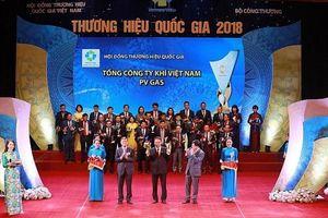 PV GAS được vinh danh Thương hiệu Quốc gia 2018 cho sản phẩm LPG