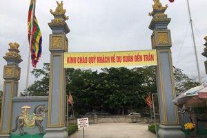Phát ấn đền Trần ở Thanh Hóa để 'phục vụ người dân'?