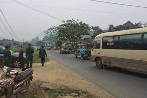Điều tra vụ nổ mìn ở bụi tre gần nhà cô gái ở Phú Thọ
