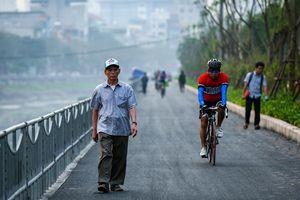 Tuyến đường đi bộ dọc sông dài nhất Hà Nội