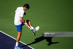 Novak Djokovic bất ngờ bị loại sớm tại BNP Paribas Open