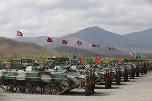 Trung Quốc và Campuchia tập trận chung lớn chưa từng có