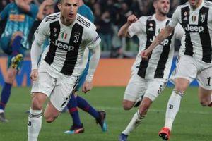 CR7 chói sáng, Juventus ngược dòng Atletico Madrid vào tứ kết Champions League