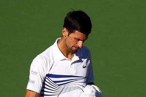 Djokovic bất ngờ 'gục ngã' ở vòng 3 Indian Wells