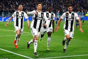C.Ronaldo lập hattrick, Juventus thắng ngược trước Atl.Madrid!