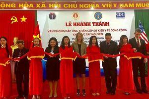 Khánh thành Văn phòng EOC khu vực Tây Nguyên