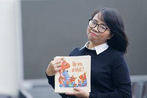 Huỳnh Mai Liên muốn 'dụ' trẻ nhỏ yêu văn học dân gian