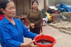 Hiện tượng chưa từng xảy ra ở Thanh Hóa: Hàng trăm giếng nước bỗng nhiên trơ đáy