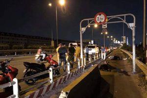 Đặt phiến bê tông ngăn ô tô trên cao tốc gây tai nạn chết người, Sở GTVT TP.HCM lên tiếng