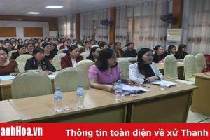 Bồi dưỡng nghiệp vụ công tác hội cho cán bộ hội phụ nữ cấp cơ sở
