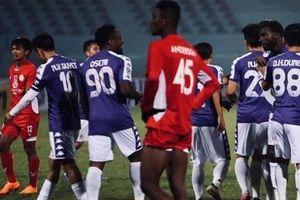 CLB Hà Nội bị chia điểm ở trận thứ hai tại AFC Cup