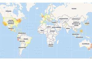 AUDIO Facebook không chỉ bị trục trặc ở Việt Nam mà trên phạm vi toàn cầu