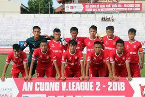 Bình Định FC không bỏ giải hạng Nhất 2019