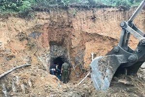 Hé lộ nguyên nhân vụ sập mỏ thiếc khiến 3 người tử vong ở Nghệ An
