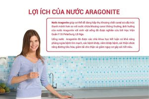 Xu thế uống nước giàu ion canxi, bạn đã biết?